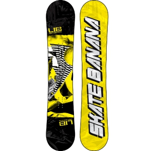 Сноуборд   LIB Technologies Skate Banana BTX Yellow 13-14